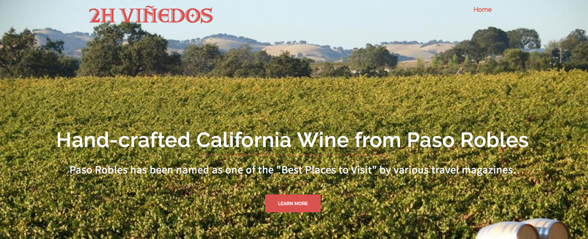 Premium wines, the style of which are classic and contemporary, showcasing the uniqueness of Paso Robles.